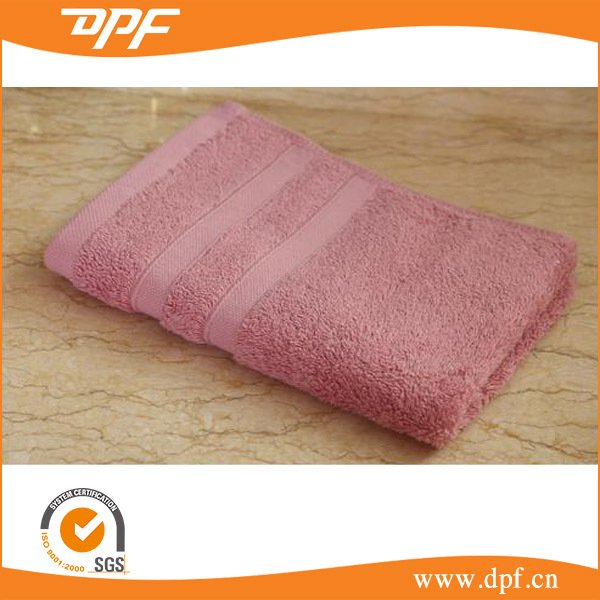 China manufacturer dark color changing face towel