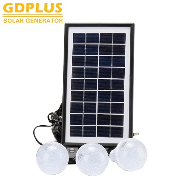 Solar light Emergency led lamp Home with MP3 radio solar lighting system
