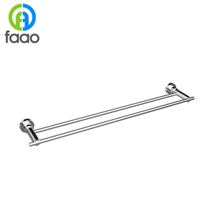 FAAO bathroom zinc brass extension towel bar