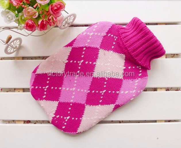 V-kc04 Wholesale Cute Knitted Animal Pattern Hot Water ...