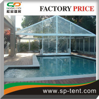 15x10m custom made indoor large swimming pool canopy Tents