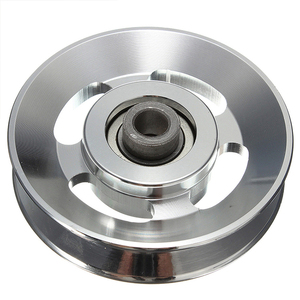Chinese Factory OEM Custom Large Aluminum Steel Metal Gym Pulley Wheel