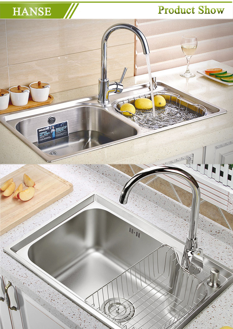 K-7843 Royal Cheap Kitchen 2 Bowl Stainless Steel Sink With Drainer - Buy 2  Bowl Stainless Steel Sink With Drainer,Cheap Kitchen Stainless Steel ...