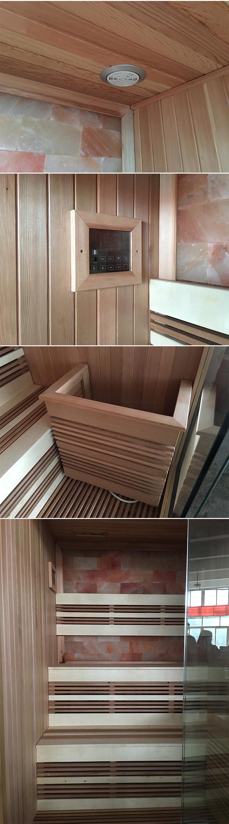 Wonderful HS SR6067M Cheap Sauna Cabin,corner Sauna House,outdoor Wooden Sauna