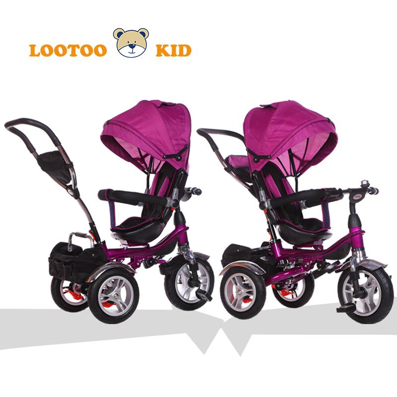 Cha mẹ và kiểm soát xử lý 3 trong 1 bé ba bánh mua sắm trực tuyến/trẻ em ba bánh xe đẩy/trike trai