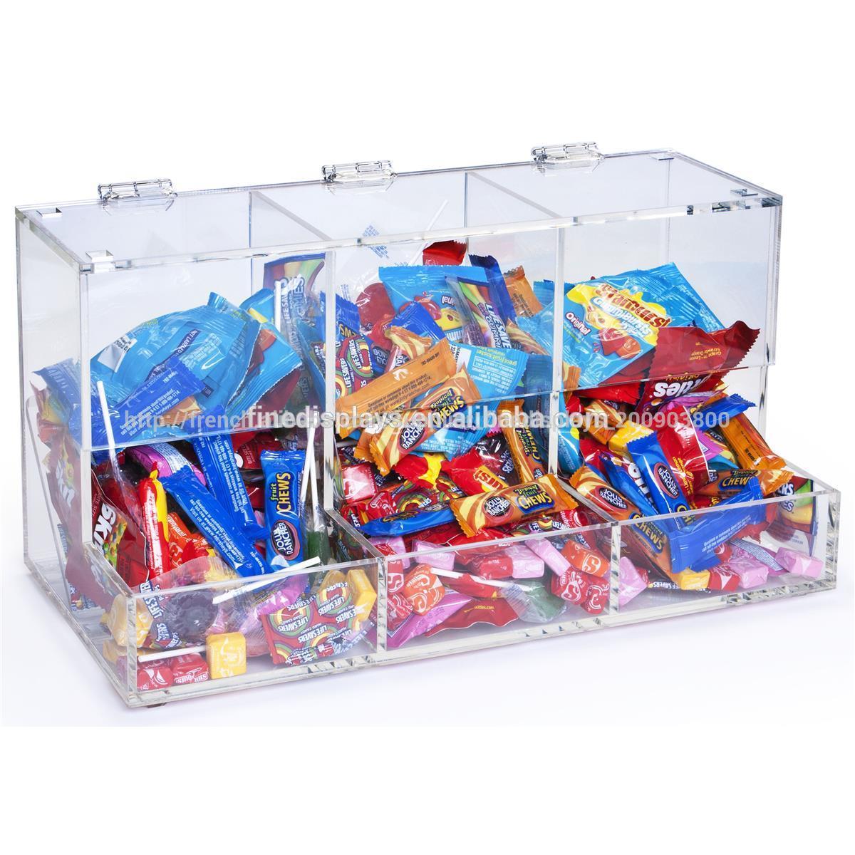 en plastique de bonbons bin 3 compartiments fd a 395 bo tes caisses de rangement id de. Black Bedroom Furniture Sets. Home Design Ideas