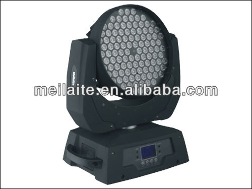 Bright led stage light rgbw 108 3w led moving heads wash
