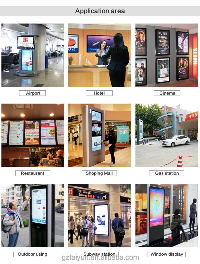 26 Inch Android Lcd Digital Billboard,Lcd Video Advertising ...