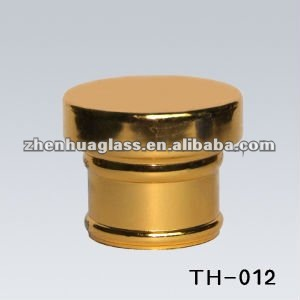 2013 new design golden perfume cap