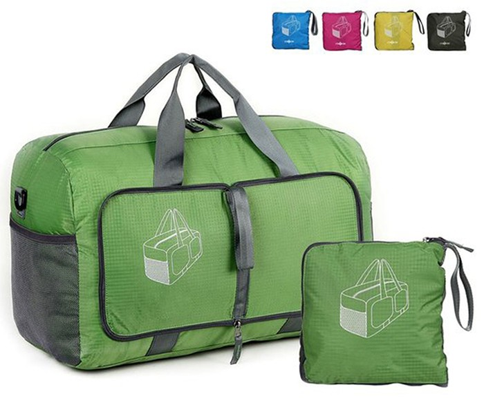 smart foldable travel duffel bag