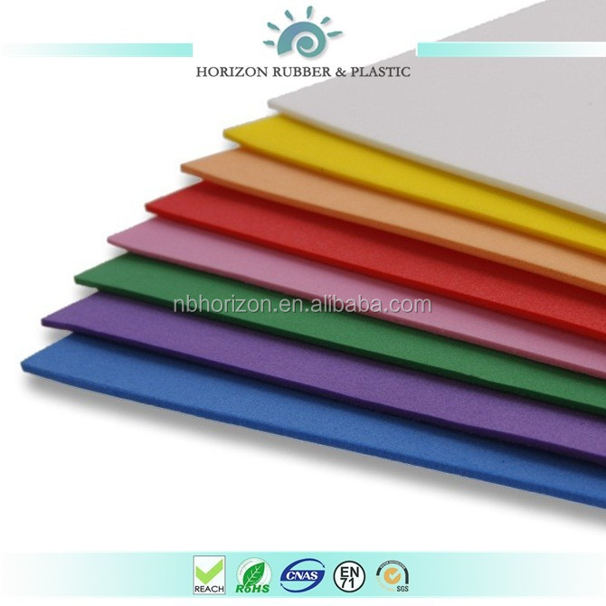 Light Weight PU, EVA, PE Foam Sheet with Good Vibration Absorption Feature