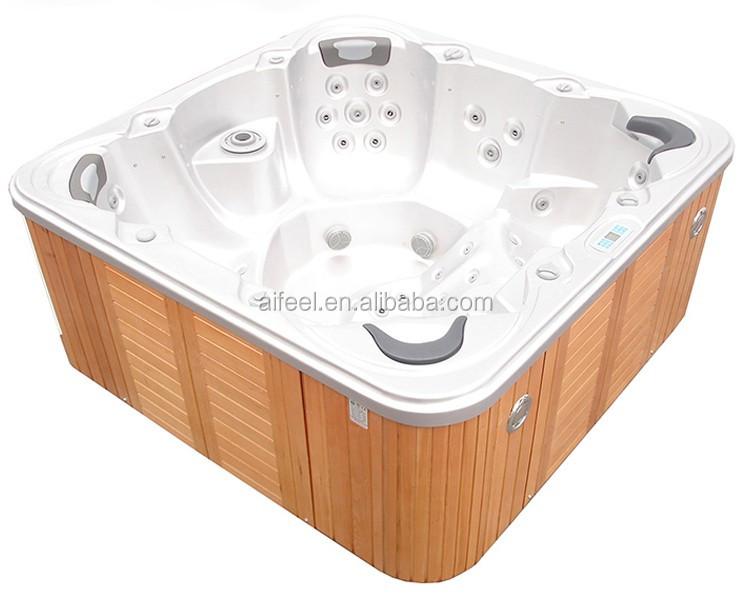 Ordinary 4 6 Tub #3: Freestanding Acrylic Balboa Hot Tub 4-6 Person Whirlpool Aqua Massage Spa