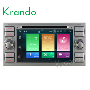 Krando Android 8.0 7'' 8-core touch screen car dvd player for Ford Focus 2004-2007 For S-MAX 2005-2009 radio KD-FU701