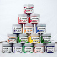 Free samples customized High quality Cheap wholesale eco-friendly art Acrylic Paint 100 ml