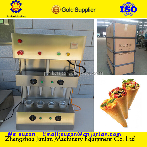 2014 new style good use sweet drum pizza cone production <strong>line</strong> +8618637188608