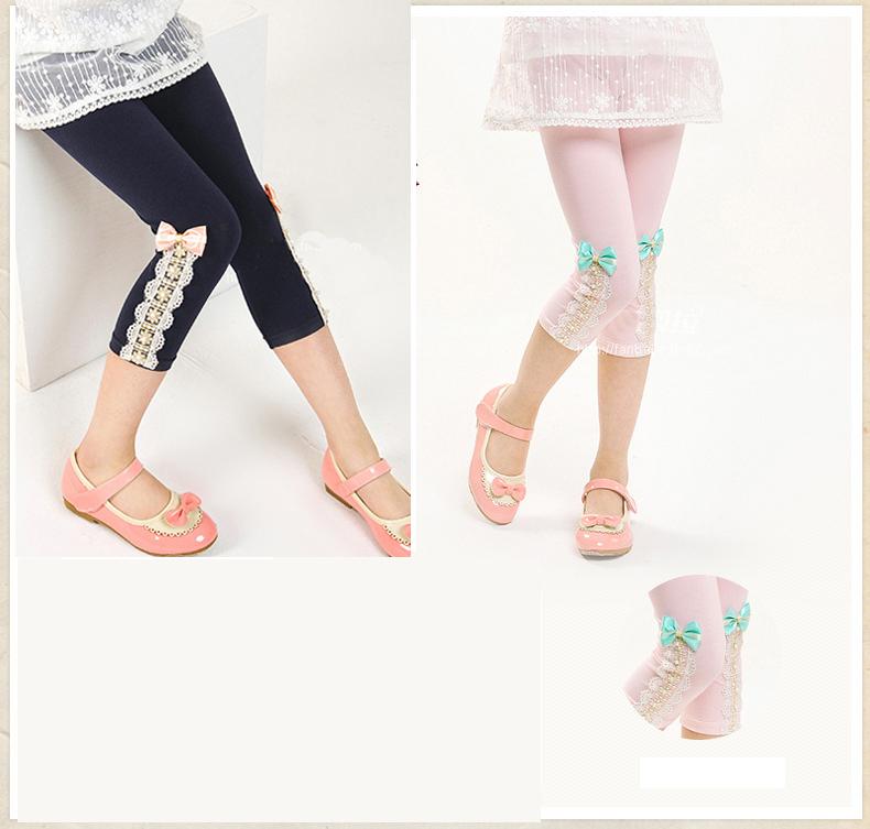 eeaea70a4f5 Sweet Baby girls leggings summer children cotton spring legging for girls  kids girl trousers kid Girls short pants for children