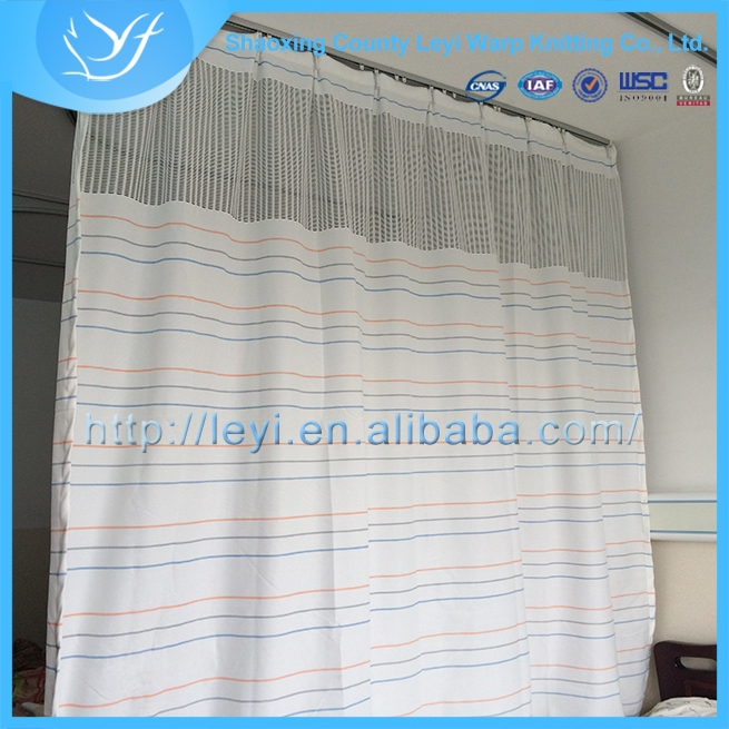 Gold Supplier China finished polyester eyelet curtains