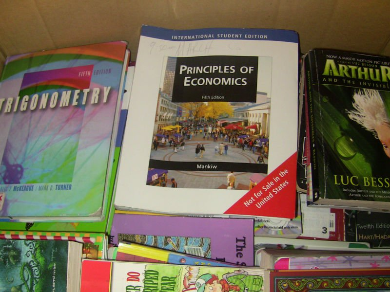 U.S SCIENCE & MATH ACADEMIC TEXT BOOKS