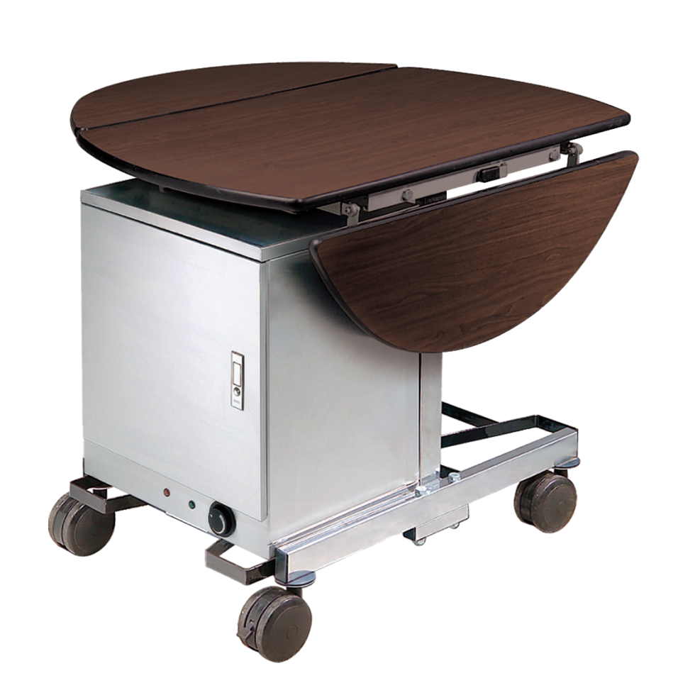 Stainless Steel Guest Room Folding Food Service Trolley