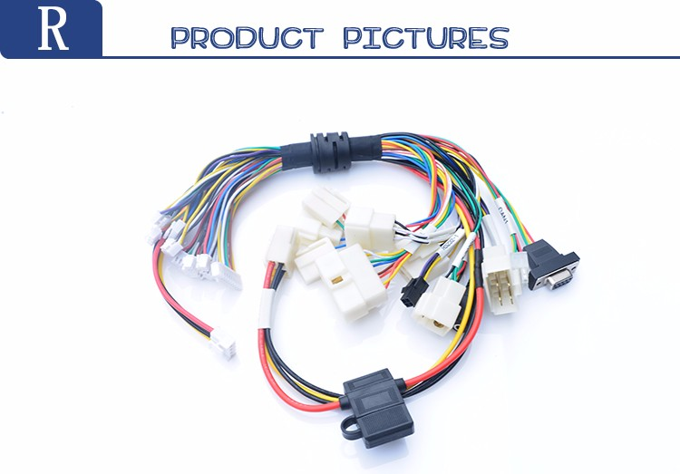 For Industry Sensor Oil Resistant Cable Automobile Wiring Harness - on electrical engineering, knob-and-tube wiring, wiring diagram, national electrical code, electric motor, circuit breaker, electrical conduit, junction box, three-phase electric power, distribution board, earthing system, power cord, electric power distribution, power cable, extension cord, ground and neutral, alternating current,