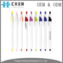 HF5208B Wholesale parker refill cheap promotional plastic bic ball pen with custom logo