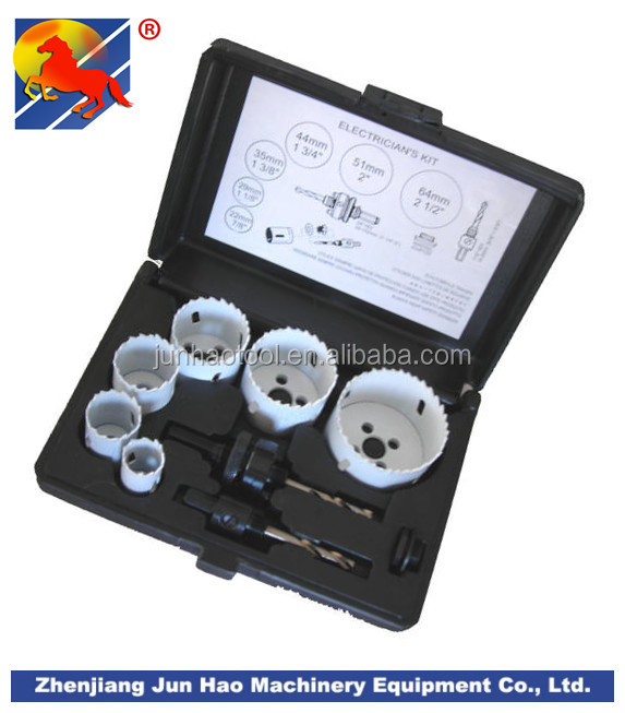 9PCS Bi-Metal Hole Saws Sets