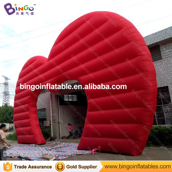 Wedding Entrance Decoration Inflatable Heart Shaped Wedding Arch