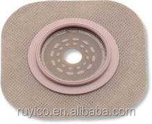 hydrocolloid flange / adaptor for colostomy bag
