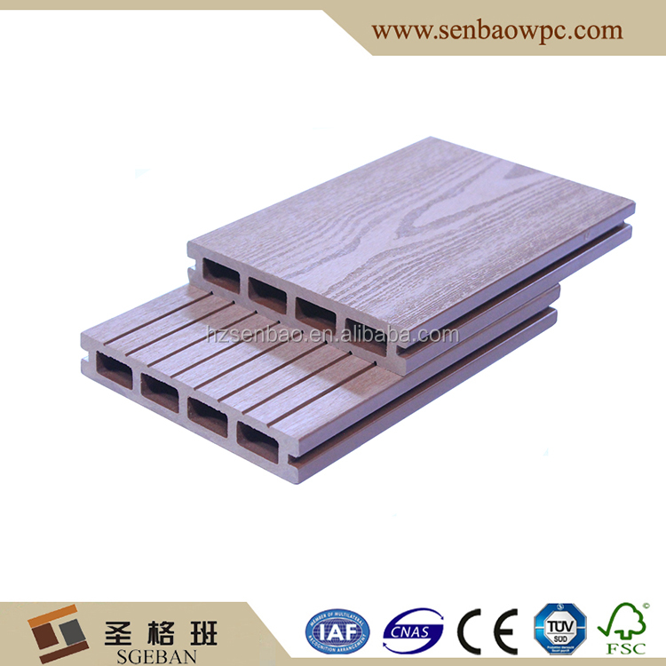 Great Quality Cheap Composite Decking wpc outdoor hollow decking