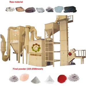 Latest Technology Calcite powder making plant /machinery by China supplier