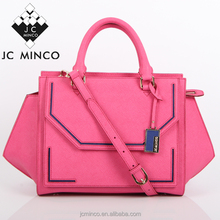 Famous brand new designer high quality saffiano leather ladies bag m k style women tote handbag