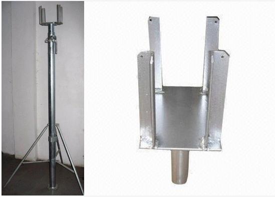 Adjustable Steel Post Shores : Galvanized painted adjustable steel jack post shore