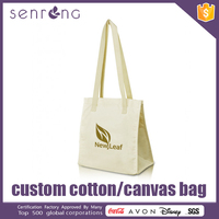 Urban Canvas Shoulder Bag Fashion Cotton Drawstring Bag