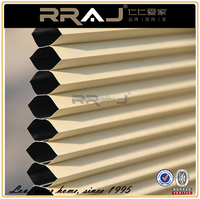 RRAJ Black out top Down Bottom up Window Blinds Shades for Living Room
