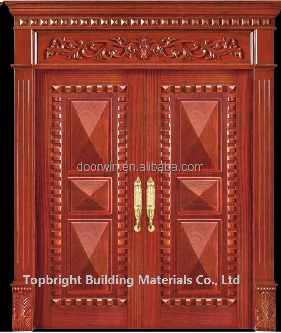 exterior main door carved solid wood double door designs system. Exterior Main Door Carved Solid Wood Double Door Designs System