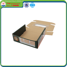 Popular Customized corrugated paper box with window