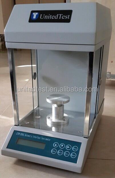 Digital Interface Tensiometer Liquid Surface Tension