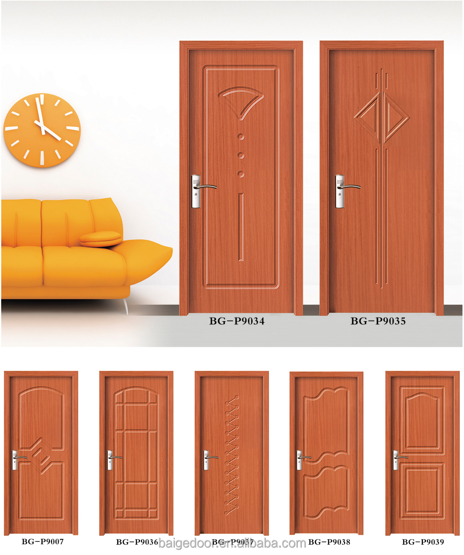 Bathroom Pvc Door Price - Bg p9007 pvc toilet door pvc bathroom door price