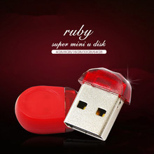 Fashion USB Flash Drive USB 2.0 mini Red Pendrive 4GB 8GB 16GB 32GB 64GB 512GB Memory Stick High speed small Pen Drive