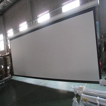 Best Cinema Projection Film Screen Fabric Price Electric Motorized Projector Screen