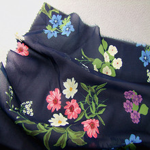 2018 new style textiles fabrics vietnam 100%polyester printing floral fabrics for dress