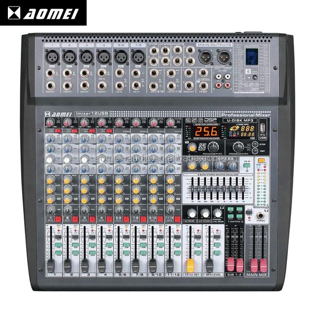 Professional Imixer12USB music good quality recording mixer dj usb digital console