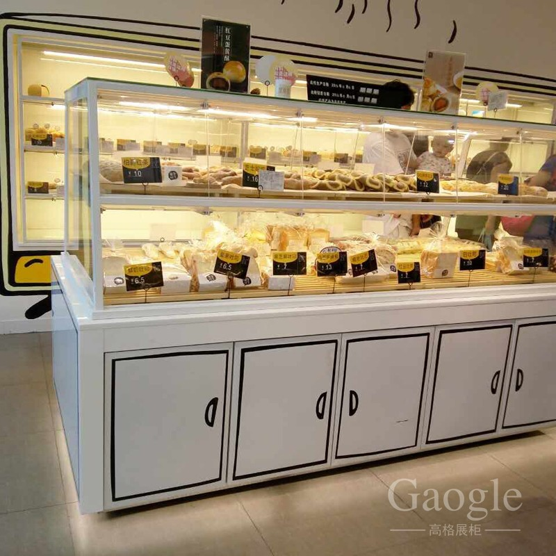 Promotionele donut display case
