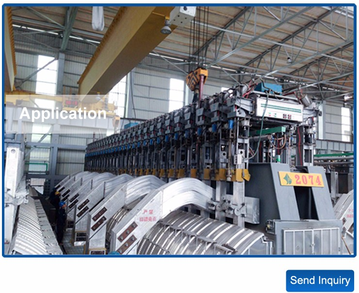 160KA Metal Metallurgy Machinery Equipment Anode Jacking Frame Machine for Aluminum Smelting