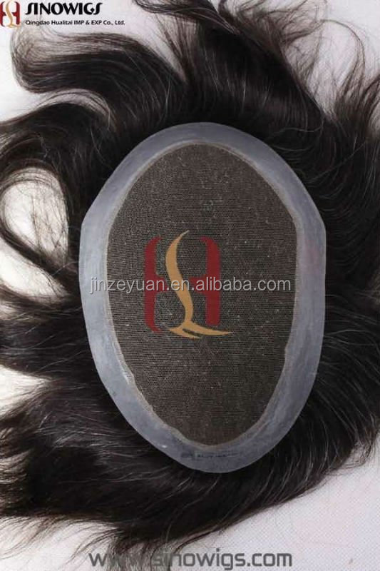 2016 hot sell 100%human hair toupee factory price