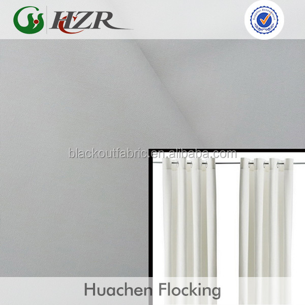 100% polyester blackout fabric for curtain