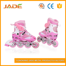 American street style shoes strong support PU wheel inline rivet skate for kids and adults