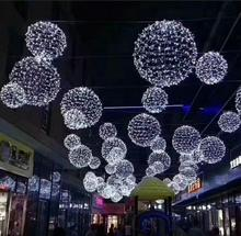 großen Festivals dekorative led string led outdoor christmas ball licht