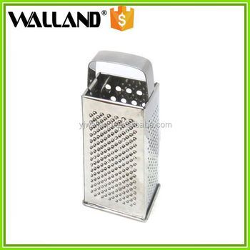 4 Sides Stainless Steel Vegetable Slicer Grater,Mini Manual Kitchen Tower  Grater,4 Sides