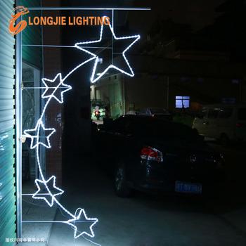 25m high led rope light star christmas 2d led street pole motif 25m high led rope light star christmas 2d led street pole motif light aloadofball Gallery
